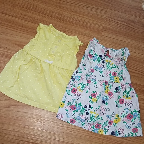 Carter's dresses size 9 months